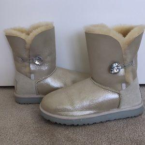 "UGG ""I DO"" Wedding Collection Swarovski Bling Boot"